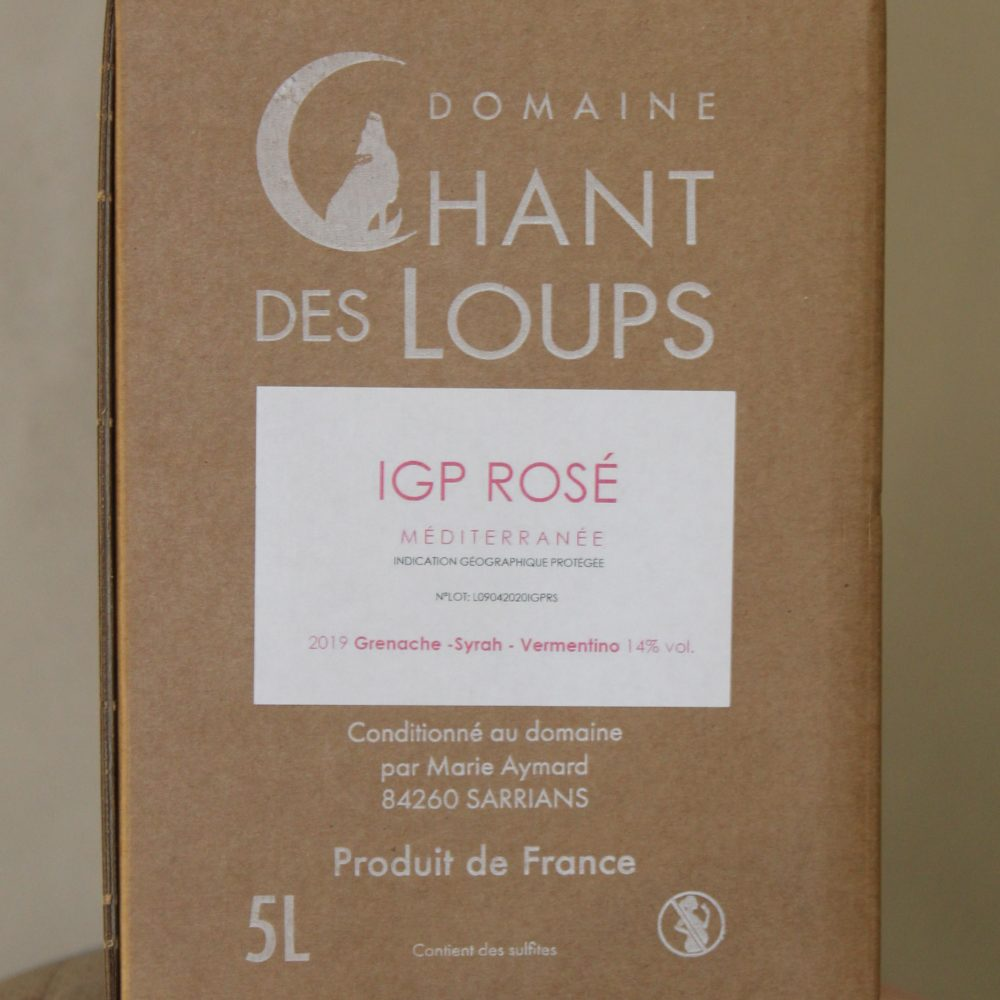 Bag in Box 5L IGP Rosé