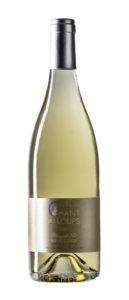 bouteille détourée du vin muscat sec 100% Muscat Petits-grains Domaine Chant des Loups